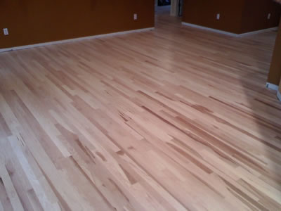 Installed new hickory in North Liberty